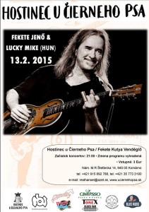 FEKETE JENŐ and Lucky Miki (HU) – koncert