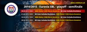 MBK Rieker COM-therm Komárno-BK Inter Incheba Bratislava