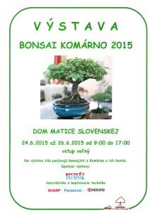 Výstava bonsajov Komárno
