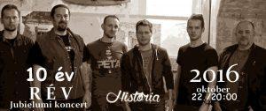 HistóRia jubileumi koncert