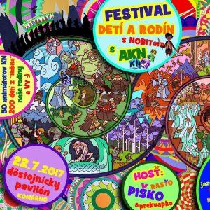 Festival  detí a rodín s Hobitom a AKN