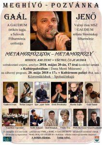 METAFORMÓZY- METAMORFÓZISOK