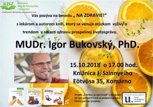 """""""NA ZDRAVIE"""" MUDr. Igor Bukovský, PhD."""
