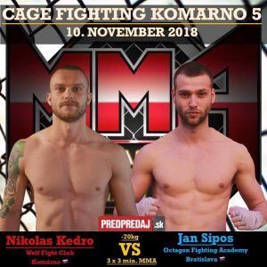 CAGE FIGHTING KOMARNO 5