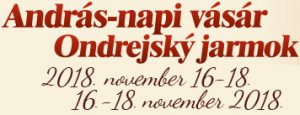 Ondrejský jarmok /András-napi vásár  / Festival kalbásky