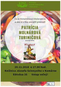 Patrícia Molnárová Turiničová / Čo je histamínová intolerancia a ako si s ňou poradiť