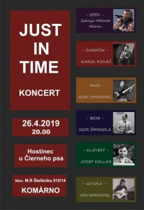 JUST IN TIME koncert
