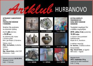 ARTKLUB Hurbanovo / výstava