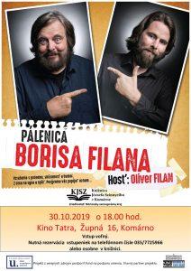Pálenica BORISA FILANA,  hosť: Oliver FILAN