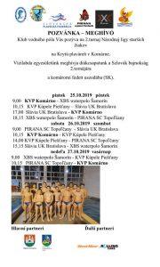 Vodné pólo – Národná liga starších žiakov / 2. turnaj