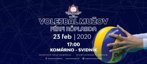 VK Spartak UJS Komárno  –  TJ Slávia Svidník