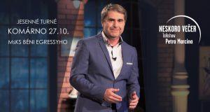Nový jesenný termín: TalkShow Petra Marcina
