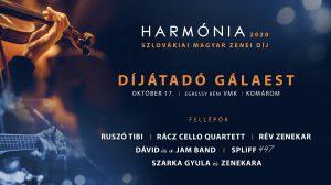 Harmónia – slávnostné odovzdávanie cien slovenskej maďarskej hudby