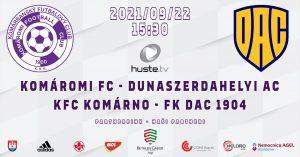 KFC Komárno – FK DAC 1904