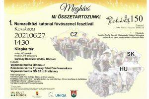 1. Medzinárodný festival vojenských dychoviek / 1. Nemzetközi katonai fúvószenei fesztiválra