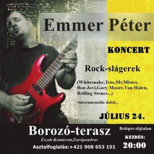Emmer Peter / koncert