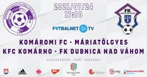 KFC Komárno – FK Dubnica nad Váhom